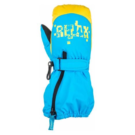 Rukavice Relax Puzzyto RR17H - modrá/žlutá 4-6 let