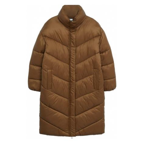 MANGO Zimní kabát 'Kellogs' hnědá