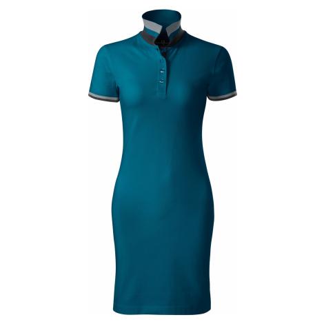 Malfini premium Dress up Dámské šaty 27193 petrolejová