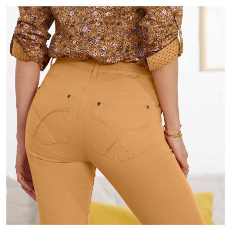 Blancheporte Tvarující kalhoty s 5 kapsami medová