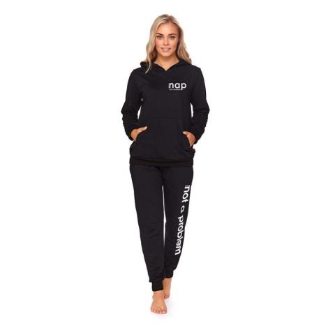 Dámský sportovní komplet Trixi černý dn-nightwear