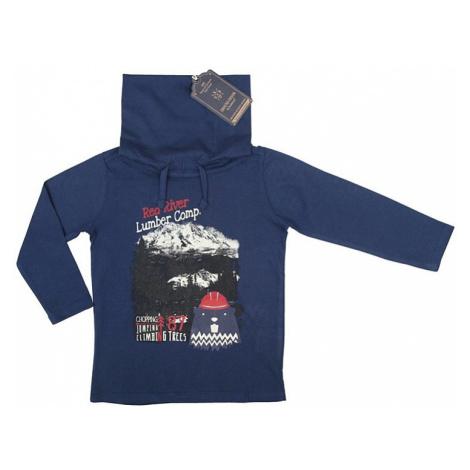 Ebound chlapecké tmavě modré tričko s rolákem