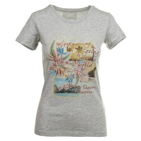 Napapijri dámské tričko beach šedé
