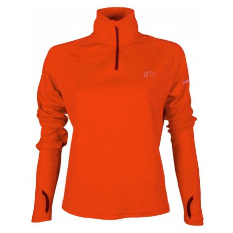 NEWLINE BASE Dámská běžecká mikina 13077-017 Oranžová