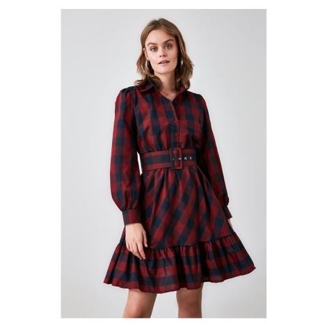Dámské šaty Trendyol Plaid