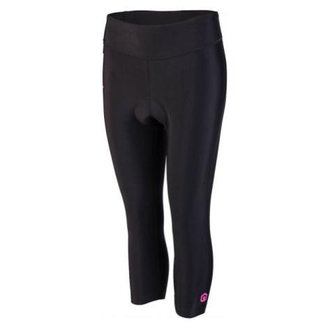Arcore AMANDA černá - Dámské 3/4 cyklistické kalhoty