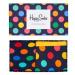 Dárkový box ponožek a kalhotek Happy Socks Combo Big Dot Blue - 2 páry