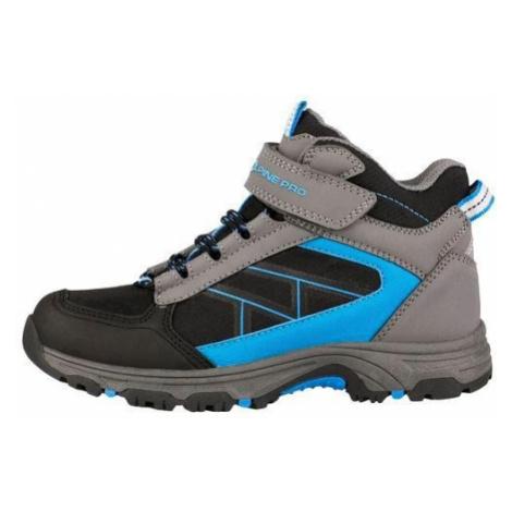 Dětská outdoorová obuv Alpine Pro SHANICO - šedo-modrá