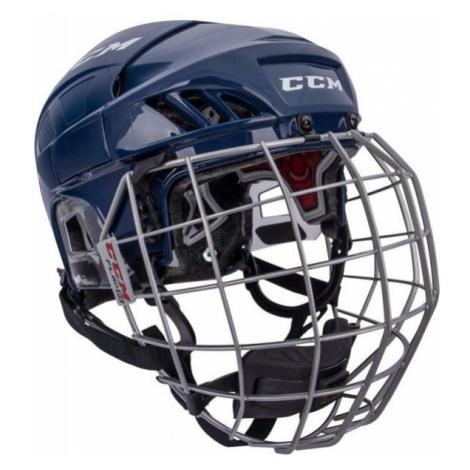 CCM FL60C SR COMBO modrá - Hokejová helma