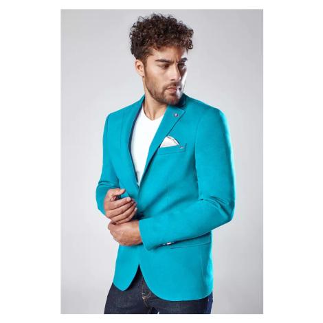 Turquoise men's jacket MX0532 DStreet