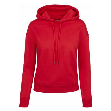 Ladies Hoody - fire red Urban Classics