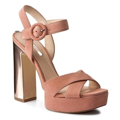 Růžové sandály - GUESS