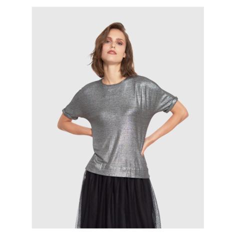 Tričko La Martina Woman Tshirt S/S Woman T-Shirt - Šedá