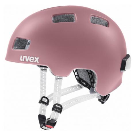 Cyklistická helma Uvex City 4 rosé mat