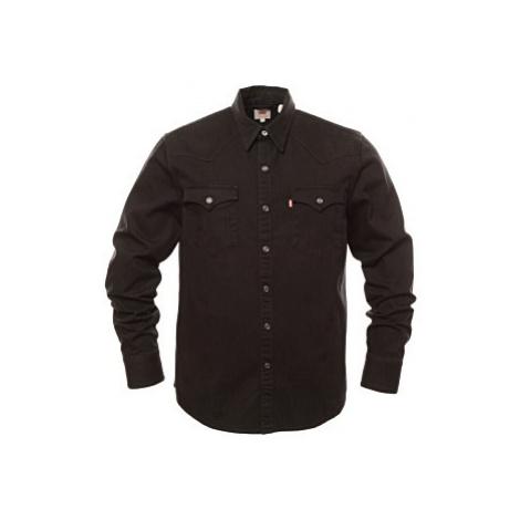 Košile Levi´s® Barstow Western pánská černá