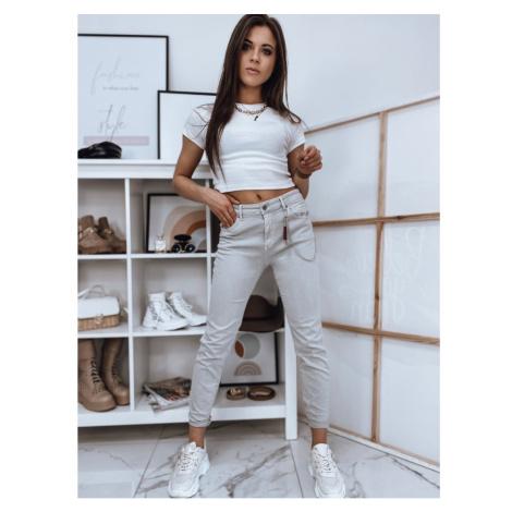 Women's denim jeans FABIANA light gray UY0727 DStreet