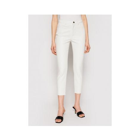 Kalhoty z imitace kůže Pinko