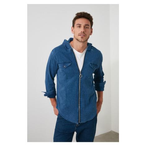 Men's shirt Trendyol Hooded