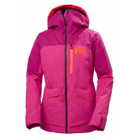 Helly Hansen POWCHASER LIFALOFT JACKET W růžová - Dámská lyžařská bunda