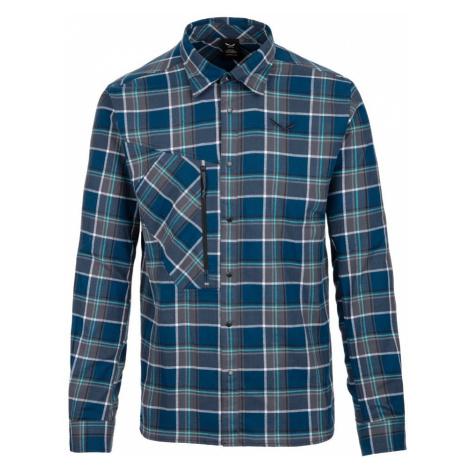 Pánská košile Salewa Fanes Flannel 4 Pl M L/S Shirt