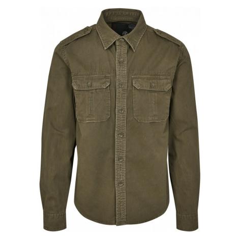 Vintage Shirt - olive Urban Classics
