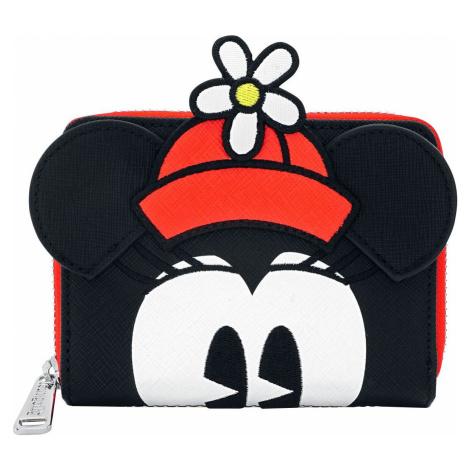 Mickey & Minnie Mouse Loungefly - Minnie Polka Dot Peněženka cerná/bílá/cervená