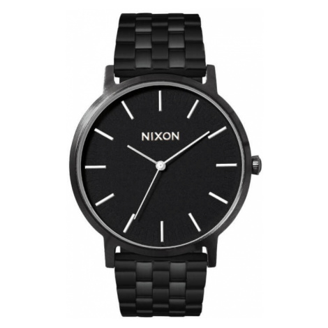 Nixon Porter All Black / White