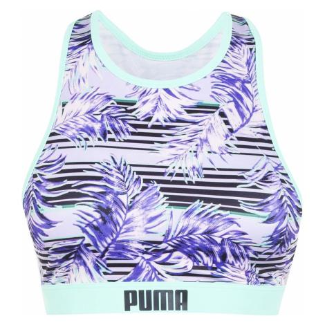Puma Print Racerback Bikini Top