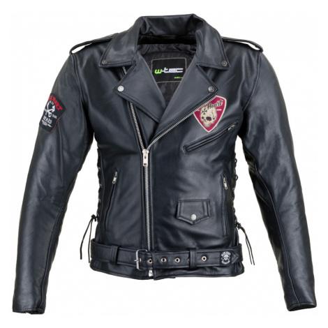 Kožená Moto Bunda W-Tec Black Heart Perfectis Černá