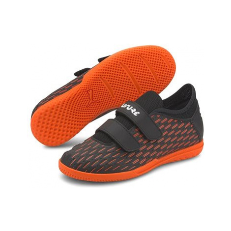 PUMA FUTURE 6.4 IT V Jr černá/oranžová