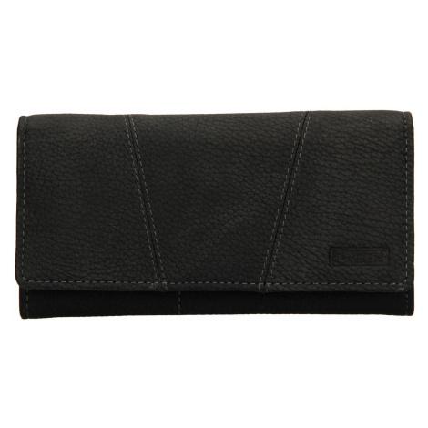 Dámská kožená peněženka Lagen Britta - černá