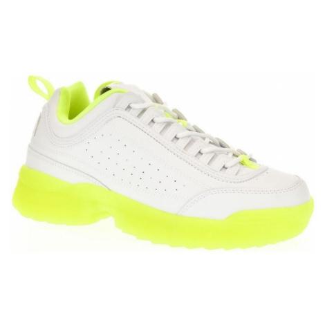 Bosido Dámske zeleno-biele tenisky GENLY