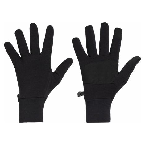 Rukavice ICEBREAKER Adult Sierra Gloves, Black Icebreaker Merino