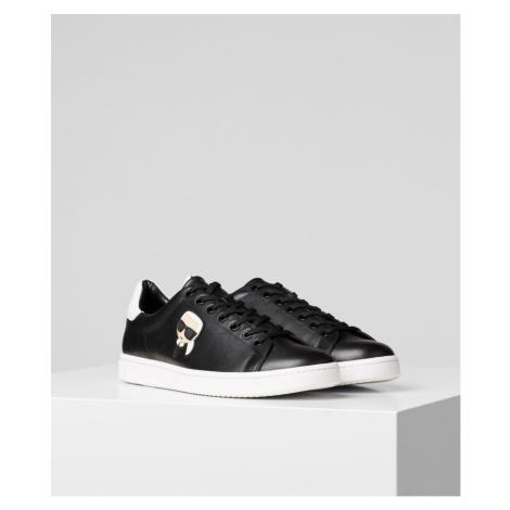 Tenisky Karl Lagerfeld Kourt Karl Ikonic 3D Lace - Černá