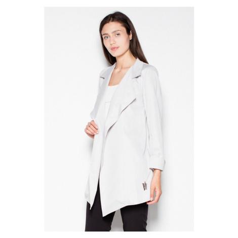 Světle šedý kabátek VT039
