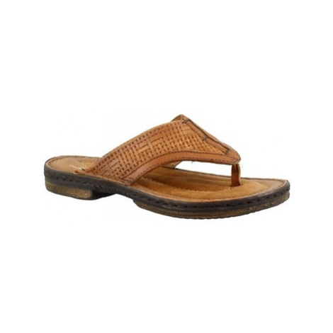 Leonardo Shoes 434012 LEGNO Hnědá