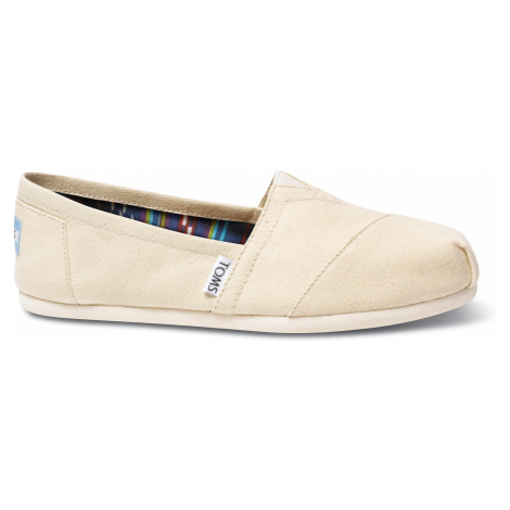 Natural Canvas Alpargatas Toms