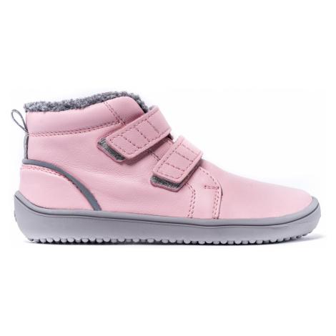 Dětské zimní barefoot boty Be Lenka Penguin - Pink 35