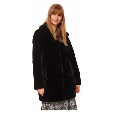 Women's coat Top Secret Fur detailed