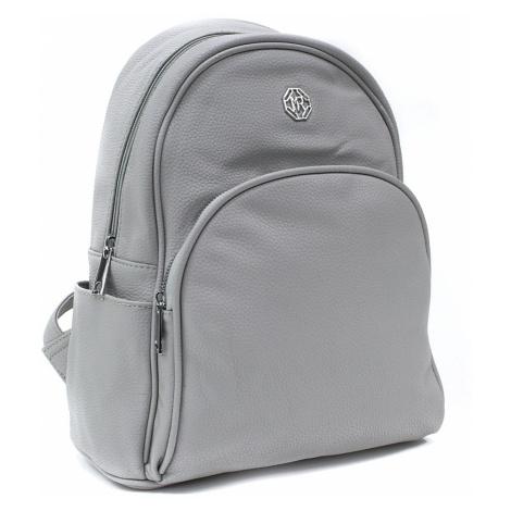 Světle šedý praktický dámský batoh Alycia Mahel