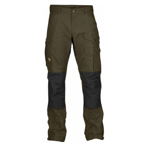 Kalhoty Fjällräven Vidda Pro Trousers - Dark Olive REGULAR