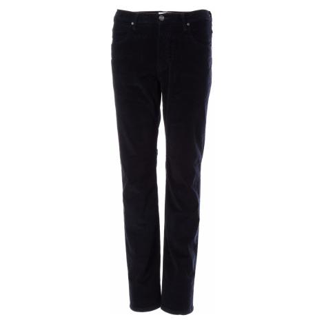 Manšestrové kalhoty Wrangler Arizona pánské tmavě modré