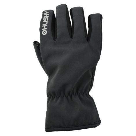 Husky Elron, černá Pánské rukavice