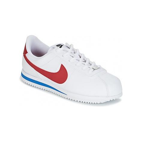 Nike CORTEZ BASIC SL GRADE SCHOOL Bílá