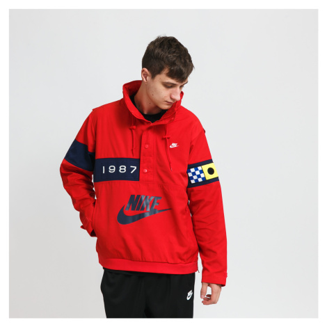 Nike NSW Reissue Walliway Woven Jacket červená