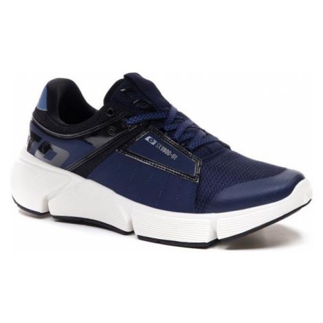 Lotto BREEZE LOGO tmavě modrá - Pánská volnočasová obuv