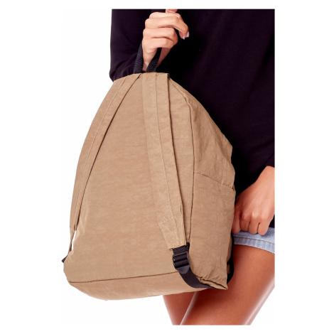 Béžový batoh s kapsou ONE SIZE