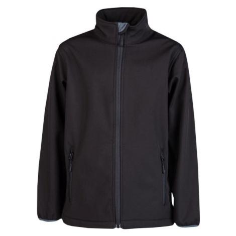 Kensis RORI JR černá - Chlapecká softshellová bunda