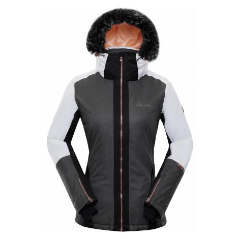 Dámská zimní bunda Alpine Pro DORA 6 - bílá