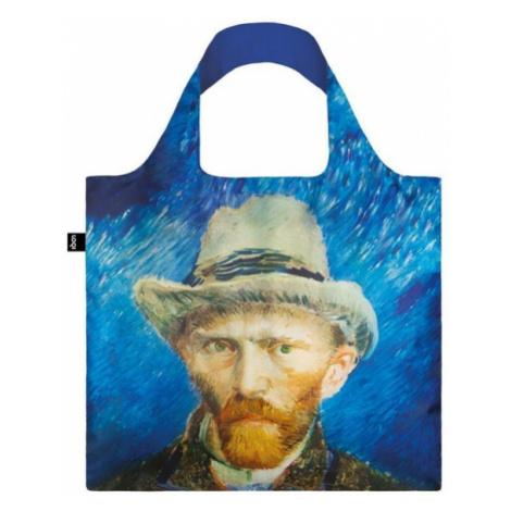 Skládací nákupní taška LOQI VINCENT VAN GOGH Self Portrait